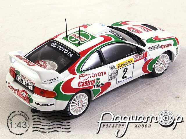 Toyota Celica GT4 №2, Rally Monte Carlo (1995) ITR112