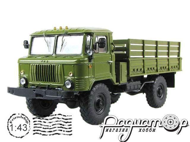 ГАЗ-66-11 бортовой (1966) SSM1007 (KO)