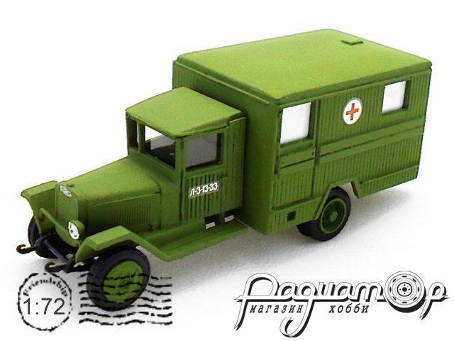 Сборная модель Санитарный автомобиль ЗиС-44 72106