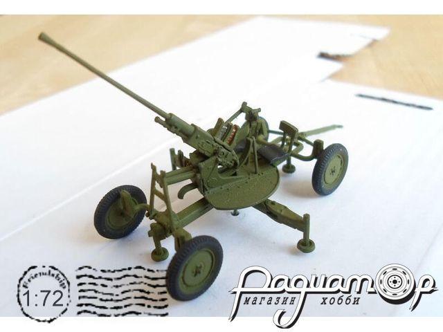 Сборная модель Зенитная пушка 72-К 72085