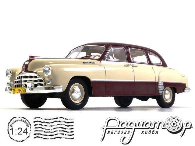 Легендарные советские автомобили №14, ЗИМ-12 (ГАЗ-12) (1950)