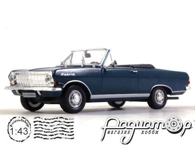 Masini de Legenda №81, Opel Rekord A Cabrio (1963)
