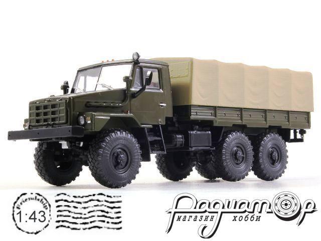 УРАЛ-43223 бортовой с тентом (1987) 101401