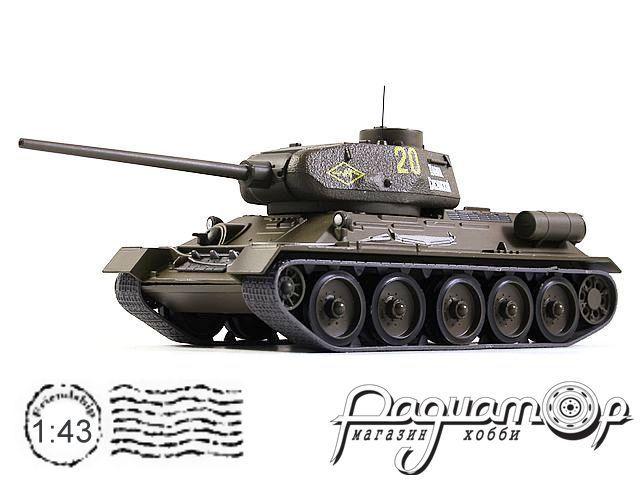 Танки - легенды отечественной бронетехники №9, Т-34-85 (1944)