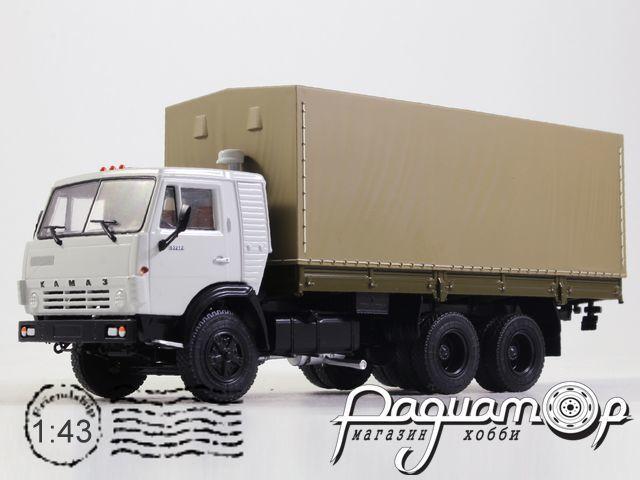 КамАЗ-53212 бортовой с тентом (1978) 102002-W