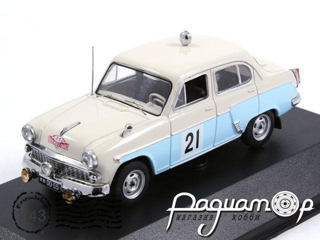 Москвич-403 №21 Сучков-Щавелев Ралли Монте Карло (1964) VVM050 (TI)