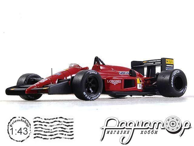 Ferrari F1 87 №28 Gerhard Berger Japanese GP (1987) SF012