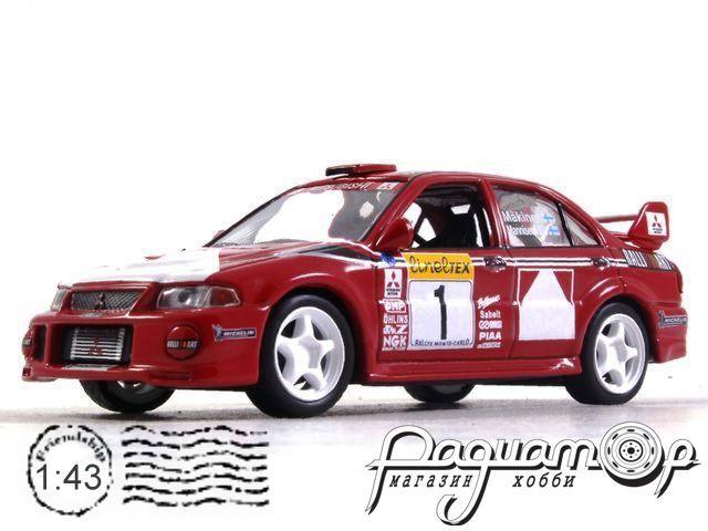 Mitsubishi Lancer Evo VI №1 Rally Monte Carlo (1999) 180721