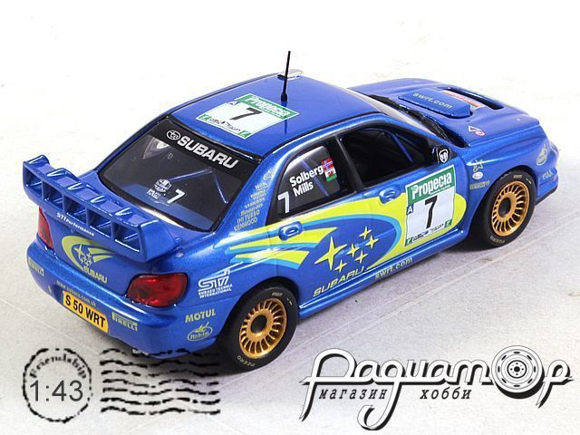Subaru Impreza WRC №7 New Zealand Rally (2003) 180722