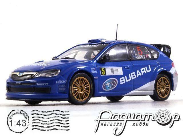 Subaru Impreza WRC №5 Neste Oil (2008) 180723