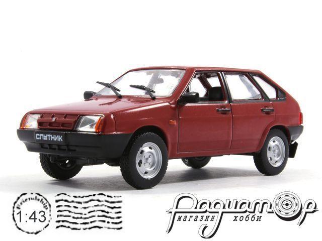 Автолегенды СССР №74, ВАЗ-2109 «Спутник» (1987)