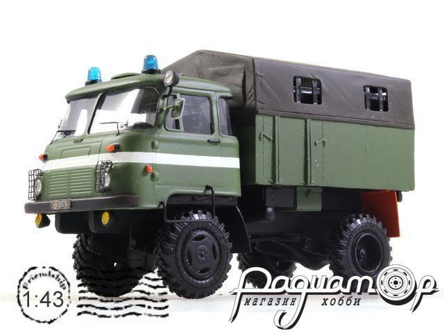 Robur LD 3001 Police, с тентом (1985) 180726