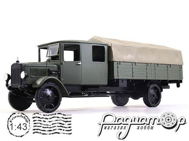 Mercedes-Benz L5, двухкабинный с грузом (1920) 2-1-3