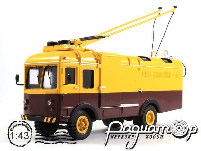 Сборная модель СВАРЗ ТГ-3 троллейвоз (1964) 180807