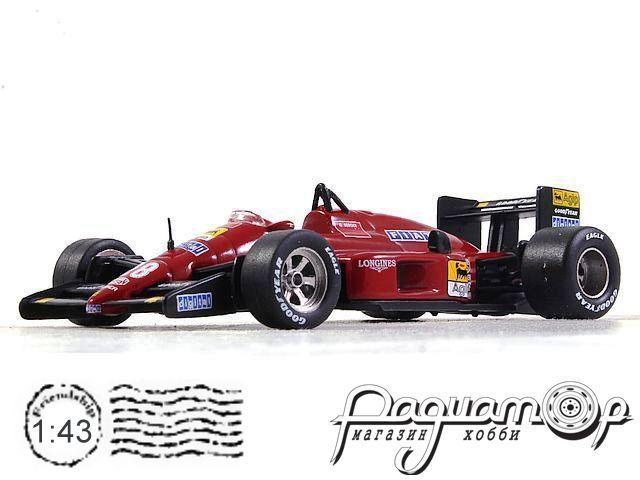 Ferrari F1 87 №28 formula 1, Gerhard Berger (1987) 7174022