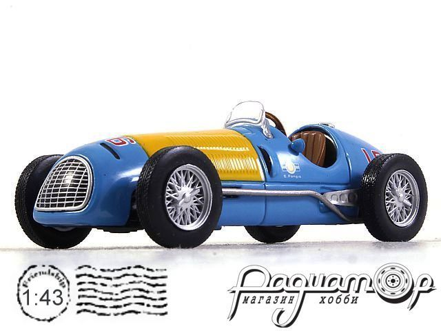 Ferrari 166FL №16 formula 1, Juan Manuel Fangio (1949) 7174019