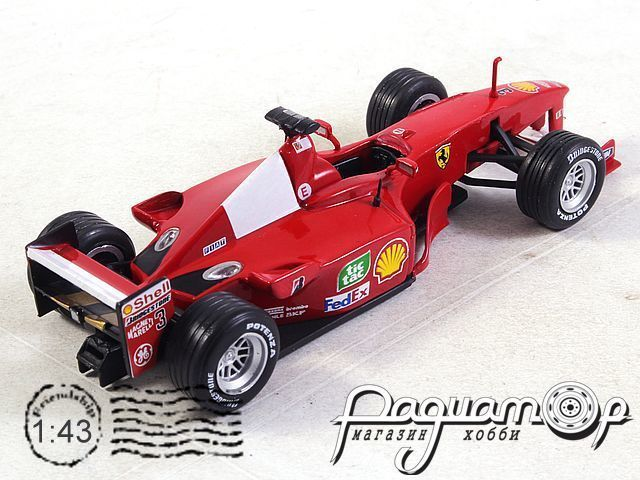 Ferrari F1-2000 №3 World Champion formula 1, Michael Schumacher (2000) 7174018
