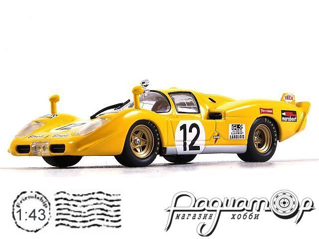 Ferrari 512 S №12 24h LeMans, Fierlant, Walker (1970) 47166