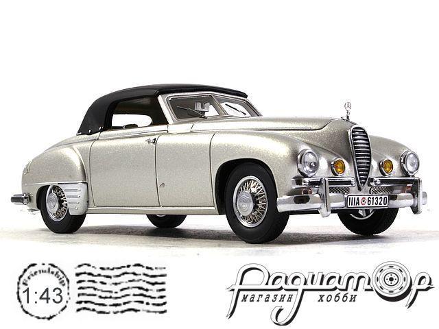 Mercedes-Benz 320 (W142) Wendler Cabriolet (закрытый) (1940) KE43037001
