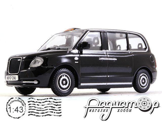 Levc Tx Electric Taxi Rhd Black 1:43 Model OXFORD