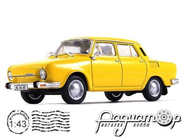 Regi Idok Legendas Autoi №2, Skoda-100 (1972)