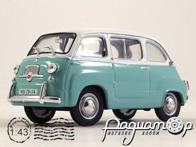 Kultowe Auta PRL-u №148, Fiat Multipla (1956)