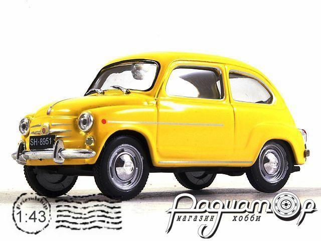 Kultowe Auta PRL-u №189, Fiat 600 (1957)