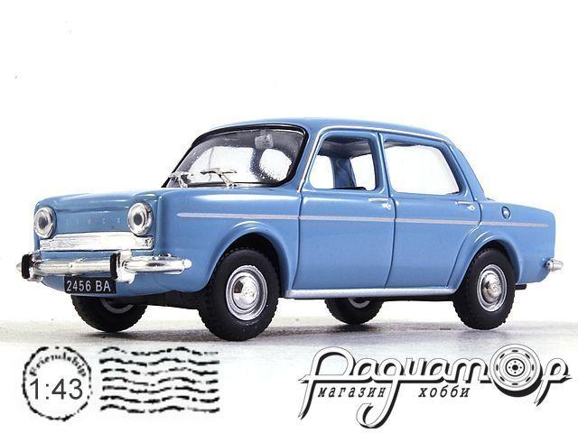 Kultowe Auta PRL-u №185, Simca 1000 (1962)