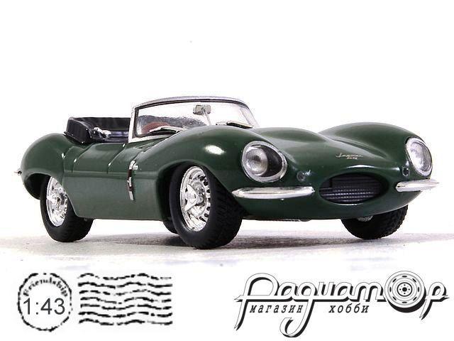 Jaguar XKSS с фигуркой Steve McQueen (1957) 86434