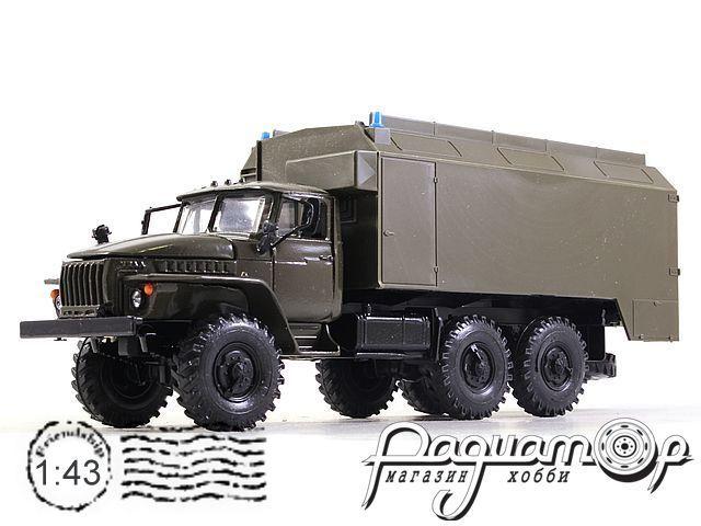 Урал-4320 кунг (1977) 2008