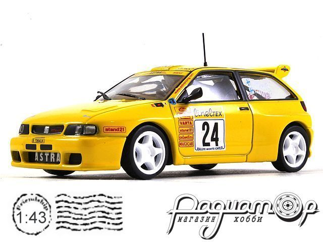 Seat Ibiza GTI Kit Car №24 Rally Monte Carlo (1999) KD064