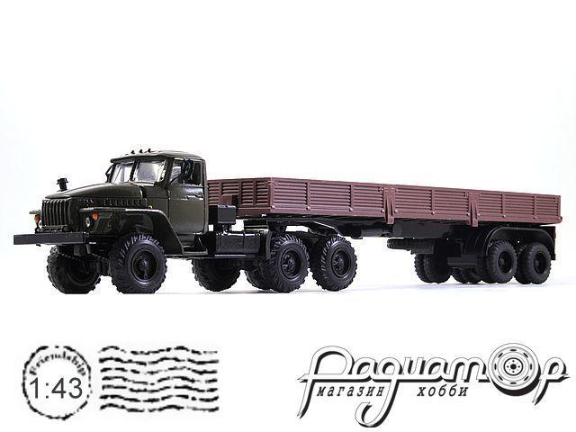 УРАЛ-44202 с полуприцепом (1983) 2011-2