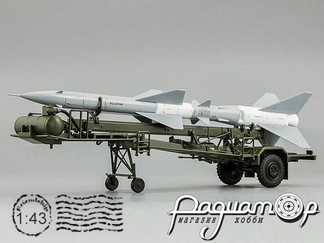 Транспортно-заряжающая машина ПР11Б (с ракетой 20Д) (1965) C60112