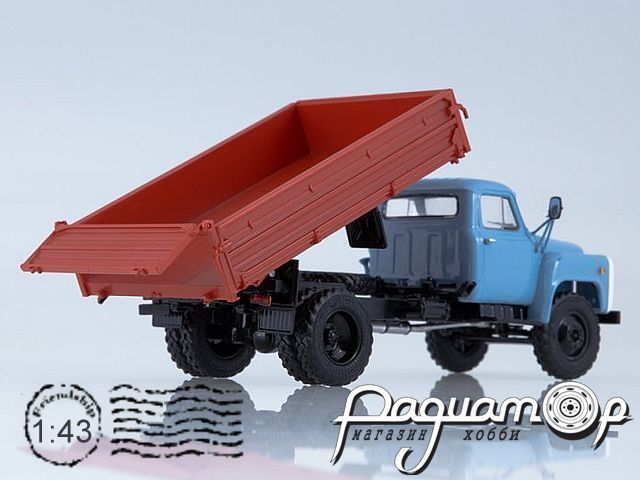 САЗ-3507 (53) самосвал (1989) SSM1339