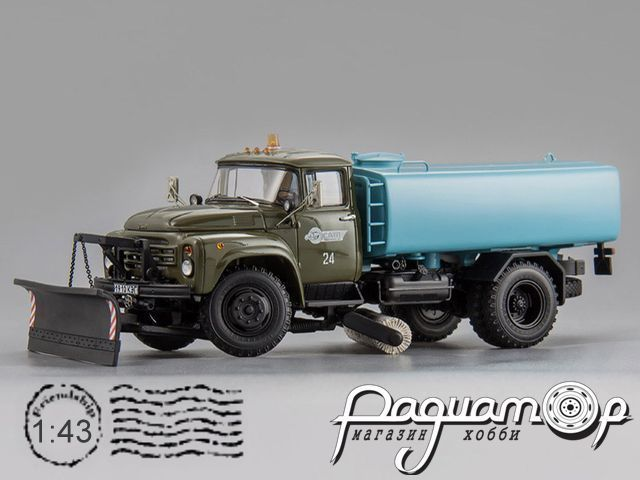 ЗИЛ КО-002 Автомобиль Поливомоечный, Красноярск (1991) 113010
