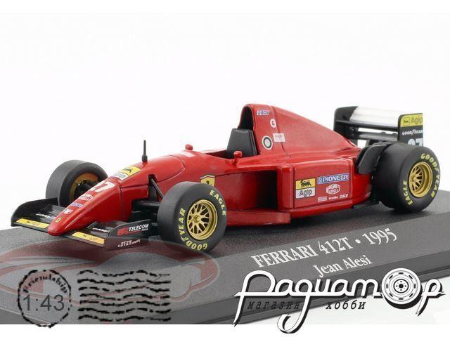 Ferrari 412 T2 №27 Formula 1, Jean Alesi (1995) JH20