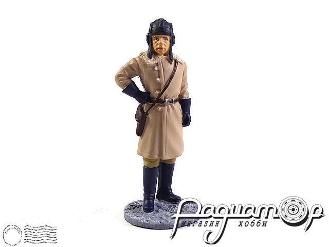 Офицер бронетанковых войск в зимней полевой форме (1941-1945) (I) 1881