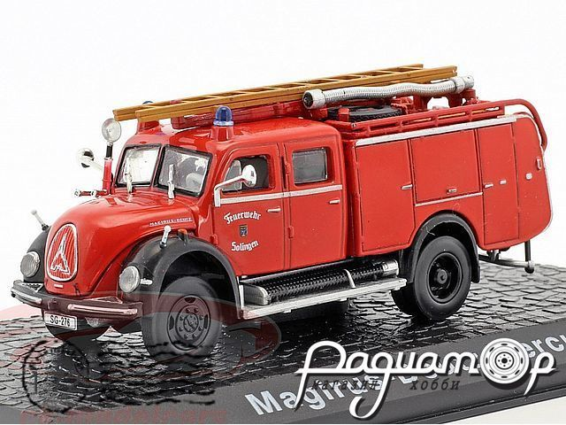 Magirus Deutz Mercur fire Department Solingen (1958) 4144105/7147001