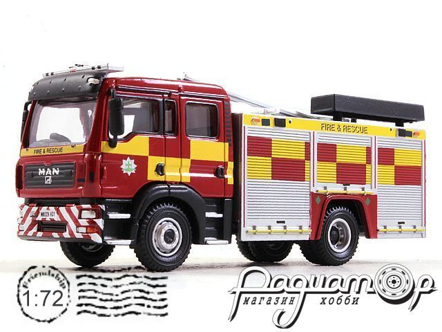 MAN TGL WRL with pump ladder fire Department (2005) 4144110