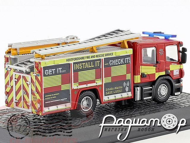 Scania CP28 fire Department with pump ladder (2009) 4144115