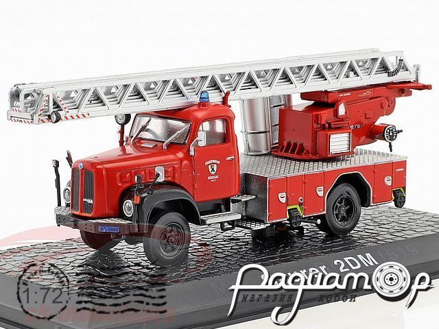 Saurer 2DM fire Department Herisau with ladder year (1955) 7147016