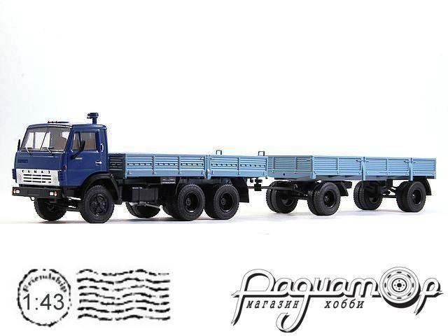 КамАЗ-5320 с прицепом ГКБ-8650 (1976) 102071
