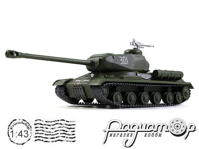 Танки - легенды отечественной бронетехники №11, ИС-2 (1943)