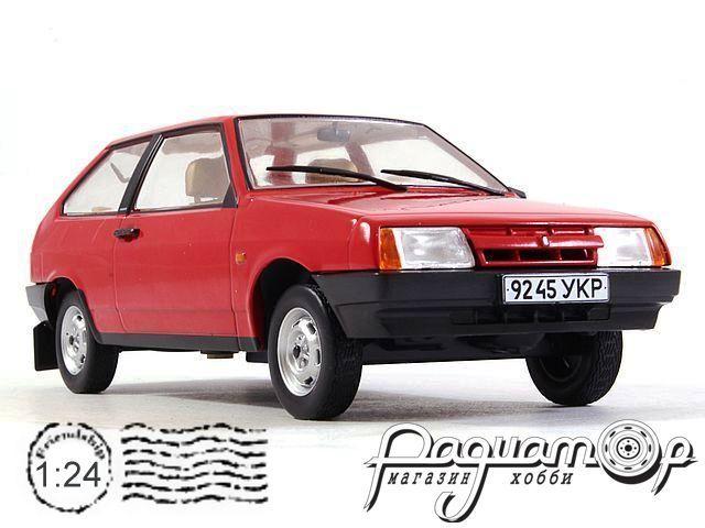 Легендарные советские автомобили №19, ВАЗ-2108 «Самара» (1984)