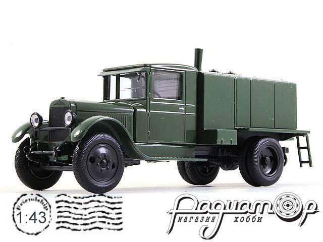 ЗиС-5 Водо-маслозаправщик (1933) H908