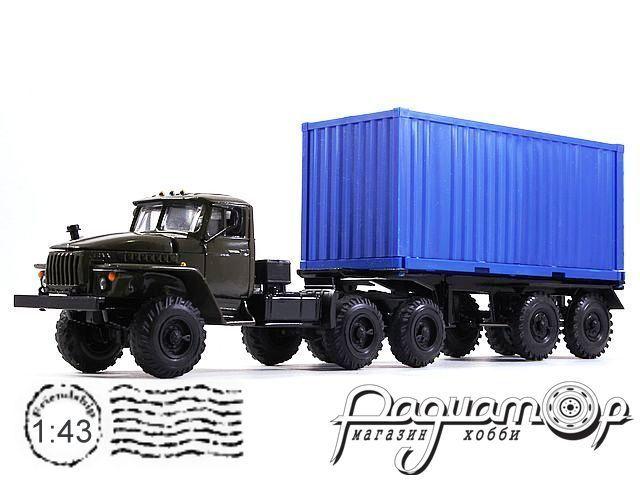 УРАЛ-44202 контейнеровоз (1983) 2013-2