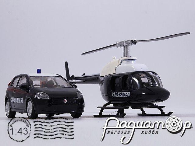 Набор Fiat Punto Carabinieri + Вертолет (2005) 915246