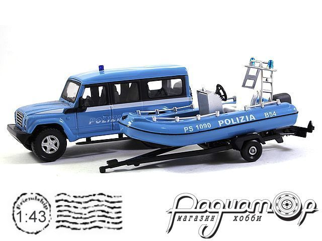 Iveco Massif Polizia с прицепом и катером (2007) 915245