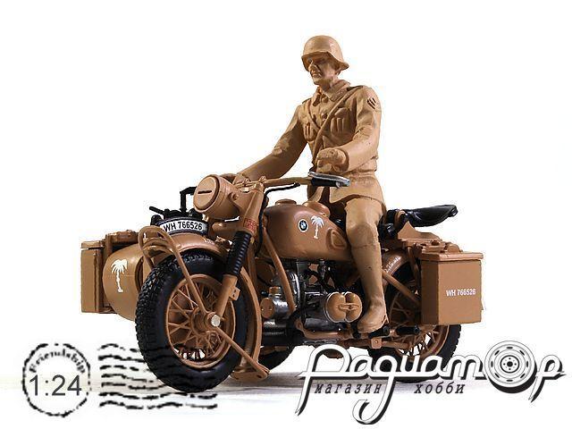 Мотоцикл BMW R75 с фигуркой (1941) 915312