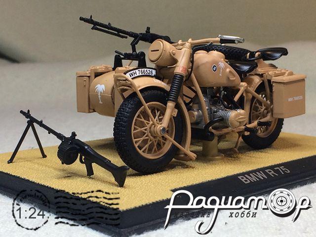 Мотоцикл BMW R75 с пулеметом (1941) 915123
